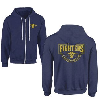 FOO FIGHTERS Insignia Logo (dark Blue), パーカー