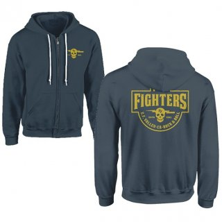 FOO FIGHTERS Insignia Logo (light Blue), パーカー