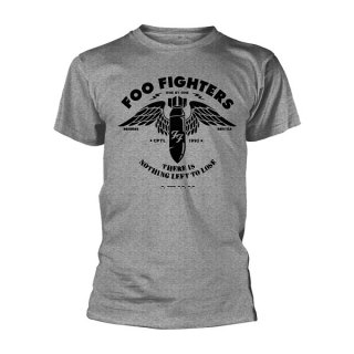 FOO FIGHTERS Stencil Grey, Tシャツ