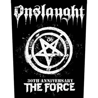 ONSLAUGHT The Force 30th Anniversary, バックパッチ