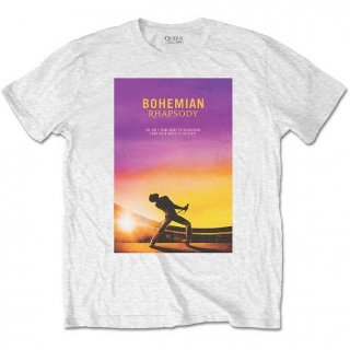 BOHEMIAN RHAPSODY Logo White, Tシャツ<img class='new_mark_img2' src='//img.shop-pro.jp/img/new/icons20.gif' style='border:none;display:inline;margin:0px;padding:0px;width:auto;' />