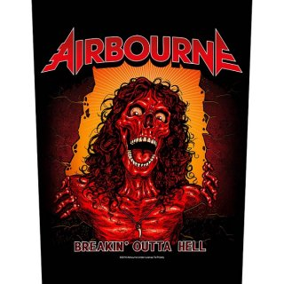 AIRBOURNE Breakin' Outa Hell, バックパッチ