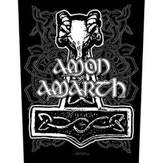 AMON AMARTH Hammer, バックパッチ