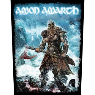 AMON AMARTH Jomsviking, バックパッチ