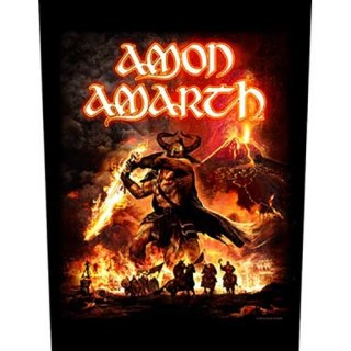 AMON AMARTH Surtur Rising, バックパッチ