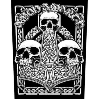 AMON AMARTH Three Skulls, バックパッチ