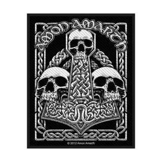AMON AMARTH Three Skulls, パッチ