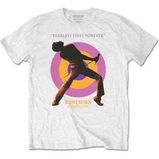 BOHEMIAN RHAPSODY Fearless, Tシャツ<img class='new_mark_img2' src='//img.shop-pro.jp/img/new/icons20.gif' style='border:none;display:inline;margin:0px;padding:0px;width:auto;' />