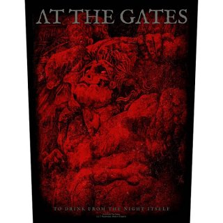 AT THE GATES To Drink From The Night Itself, バックパッチ