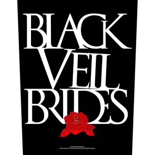 BLACK VEIL BRIDES Rose, バックパッチ