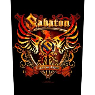 SABATON Coat Of Arms, バックパッチ