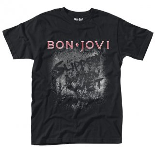 BON JOVI Slippery When Wet Album, Tシャツ