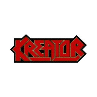 KREATOR Logo Cut - Out, パッチ