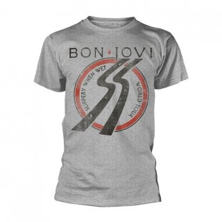 BON JOVI Slippery When Wet Tour, Tシャツ