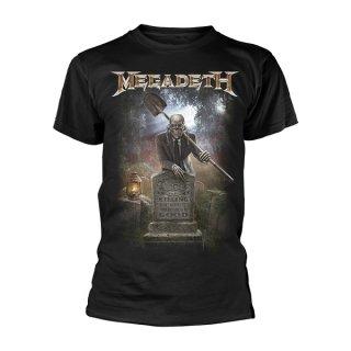 MEGADETH 35 Years Graveyard, Tシャツ