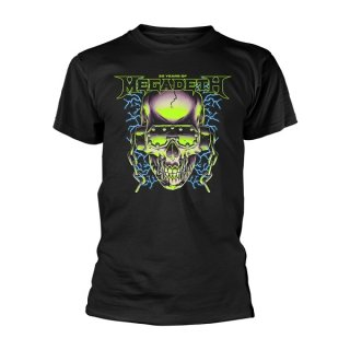 MEGADETH 35 Years H/Phones Skull, Tシャツ