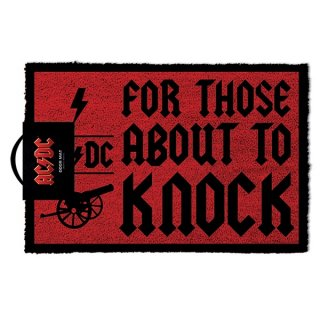 AC/DC For Those About To Knock, ドアマット