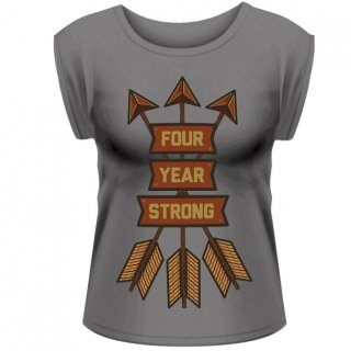 FOUR YEAR STRONG Arrows, レディースTシャツ<img class='new_mark_img2' src='//img.shop-pro.jp/img/new/icons5.gif' style='border:none;display:inline;margin:0px;padding:0px;width:auto;' />