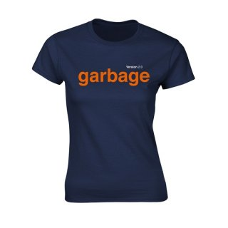 GARBAGE Version 2.0, レディースTシャツ<img class='new_mark_img2' src='//img.shop-pro.jp/img/new/icons5.gif' style='border:none;display:inline;margin:0px;padding:0px;width:auto;' />