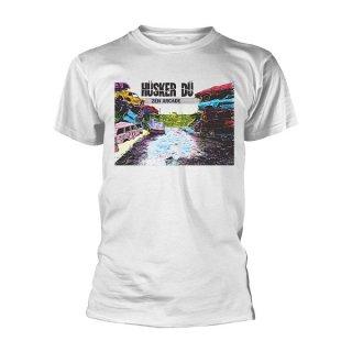 HUSKER DU Zen Arcade (white), Tシャツ