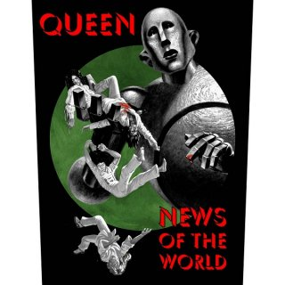 QUEEN News Of The World, バックパッチ