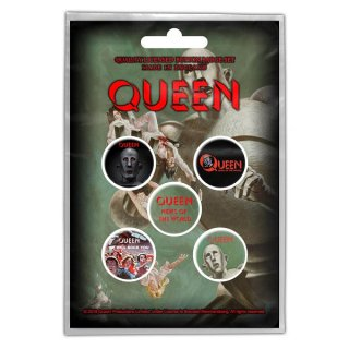 QUEEN News Of The World, バッジセット