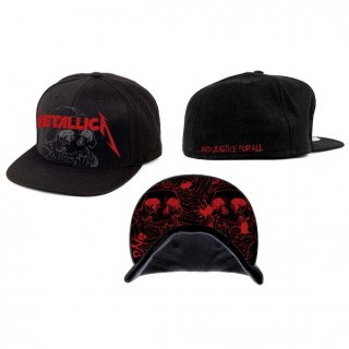 METALLICA One Justice, キャップ