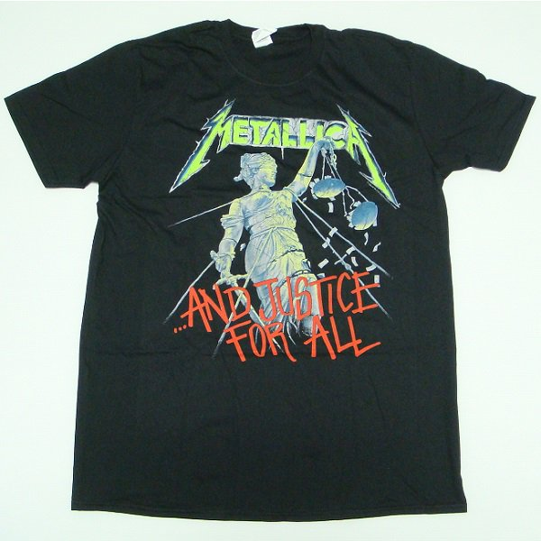 .. Metallica And Justice For All T-shirt