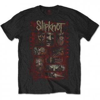 SLIPKNOT Sketch Boxes, Tシャツ