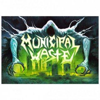 MUNICIPAL WASTE Reaper, 布製ポスター