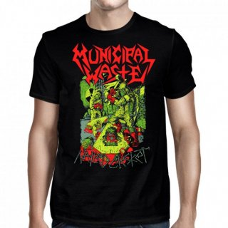MUNICIPAL WASTE Nailed Casket Mw. Tシャツ