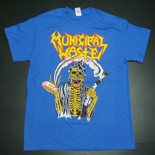 MUNICIPAL WASTE Blue Beer Reaper Mw, Tシャツ