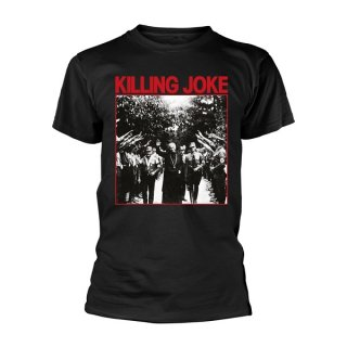 KILLING JOKE Pope (black), Tシャツ