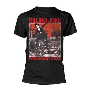 KILLING JOKE Wardance & Pssyche, Tシャツ<img class='new_mark_img2' src='//img.shop-pro.jp/img/new/icons5.gif' style='border:none;display:inline;margin:0px;padding:0px;width:auto;' />