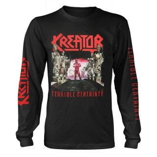 KREATOR Terrible Certainty, ロングTシャツ<img class='new_mark_img2' src='//img.shop-pro.jp/img/new/icons5.gif' style='border:none;display:inline;margin:0px;padding:0px;width:auto;' />