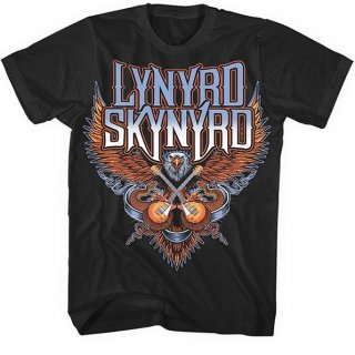LYNYRD SKYNYRD Crossed Guitars, Tシャツ<img class='new_mark_img2' src='//img.shop-pro.jp/img/new/icons5.gif' style='border:none;display:inline;margin:0px;padding:0px;width:auto;' />