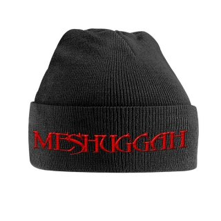 MESHUGGAH Red Logo, ニットキャップ