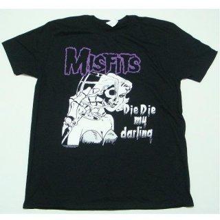 MISFITS Die Die My Darling, Tシャツ