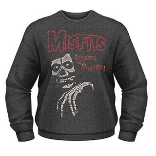 MISFITS Legacy Of Brutality, スウェットシャツ<img class='new_mark_img2' src='https://img.shop-pro.jp/img/new/icons5.gif' style='border:none;display:inline;margin:0px;padding:0px;width:auto;' />