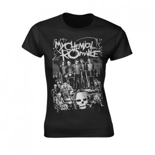 MY CHEMICAL ROMANCE Dead Parade, レディースTシャツ<img class='new_mark_img2' src='https://img.shop-pro.jp/img/new/icons5.gif' style='border:none;display:inline;margin:0px;padding:0px;width:auto;' />