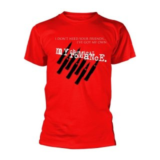 MY CHEMICAL ROMANCE Friends, Tシャツ<img class='new_mark_img2' src='https://img.shop-pro.jp/img/new/icons5.gif' style='border:none;display:inline;margin:0px;padding:0px;width:auto;' />