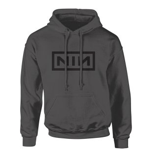 NINE INCH NAILS Classic Black Logo, パーカー