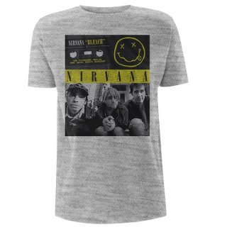 NIRVANA Bleach Tape Photo, Tシャツ