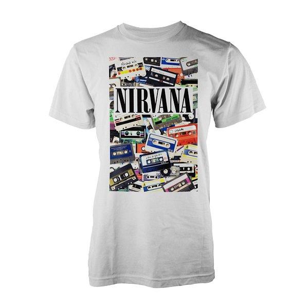 NEW /& OFFICIAL! Nirvana /'Cassettes/' T-Shirt