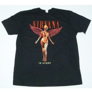NIRVANA In Utero, Tシャツ<img class='new_mark_img2' src='https://img.shop-pro.jp/img/new/icons5.gif' style='border:none;display:inline;margin:0px;padding:0px;width:auto;' />