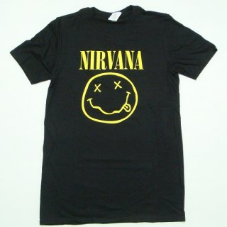 NIRVANA Smiley Logo, Tシャツ<img class='new_mark_img2' src='https://img.shop-pro.jp/img/new/icons5.gif' style='border:none;display:inline;margin:0px;padding:0px;width:auto;' />