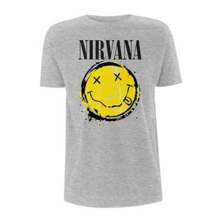 NIRVANA Smiley Splat, Tシャツ<img class='new_mark_img2' src='//img.shop-pro.jp/img/new/icons5.gif' style='border:none;display:inline;margin:0px;padding:0px;width:auto;' />