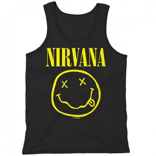 NIRVANA Smiley Vest, タンクトップ<img class='new_mark_img2' src='//img.shop-pro.jp/img/new/icons5.gif' style='border:none;display:inline;margin:0px;padding:0px;width:auto;' />