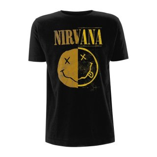 NIRVANA Spliced Smiley, Tシャツ<img class='new_mark_img2' src='//img.shop-pro.jp/img/new/icons5.gif' style='border:none;display:inline;margin:0px;padding:0px;width:auto;' />