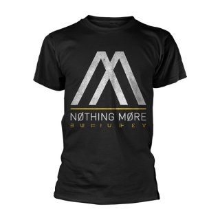 NOTHING MORE Album Logo, Tシャツ